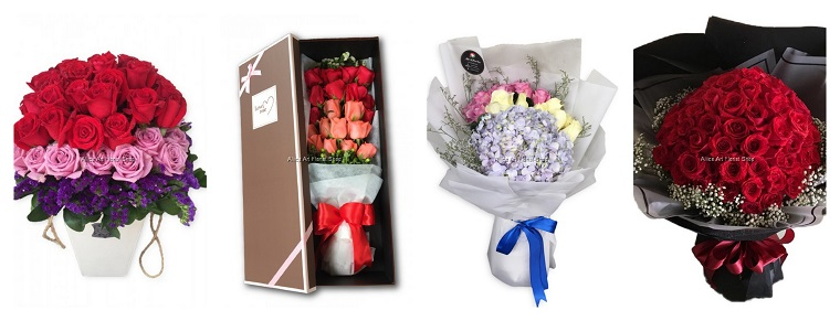 Best Flower Delivery Services in Kuala Lumpur | Aliice Art Florist Shop
