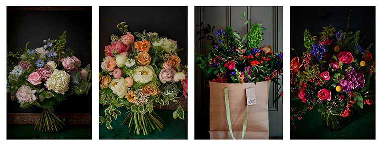 Best Flower Delivery London | Scarlet & Violet