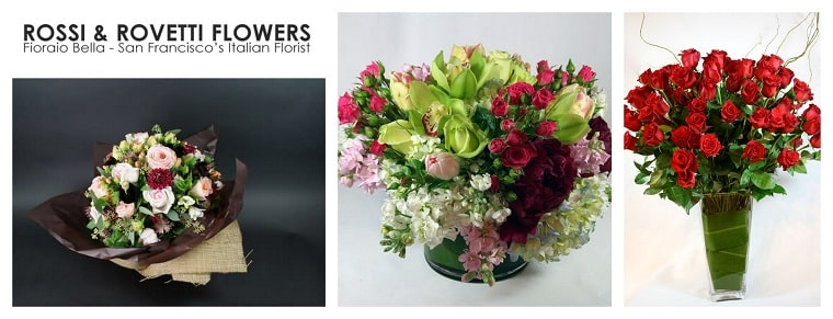 Best Flower Delivery San Francisco | Rossi and Rovetti