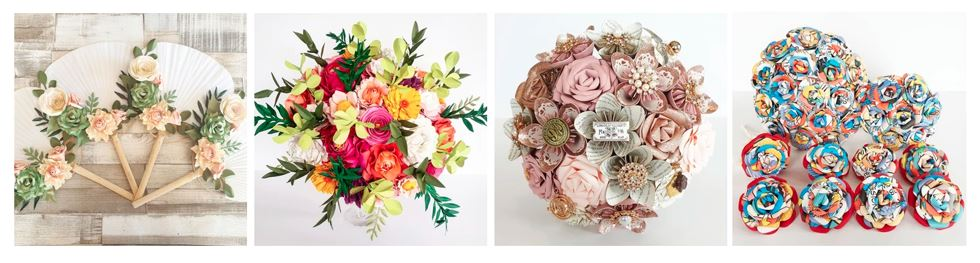 Paper Bouquets - Best Wedding Florists in the UK
