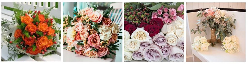 best wedding florists USA - fifty flowers