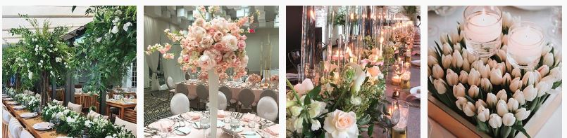 best wedding florists canada - aura design