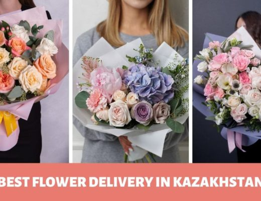 The 5 Shops for Best Flower Delivery in Kazakhstan